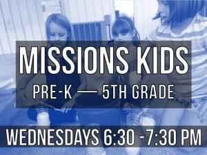 missions kids