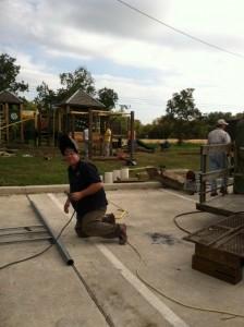 playground in progress dennis welding 3