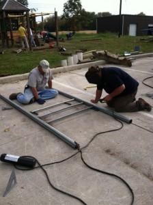playground in progress-pastor & kinney welding